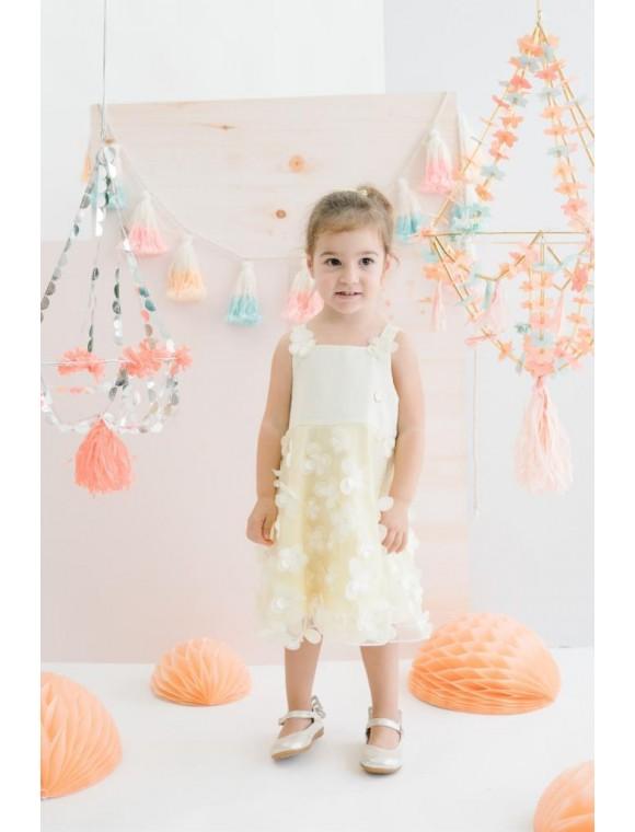 3D Çocuk Elbise 15714 BPN15714-20Y1