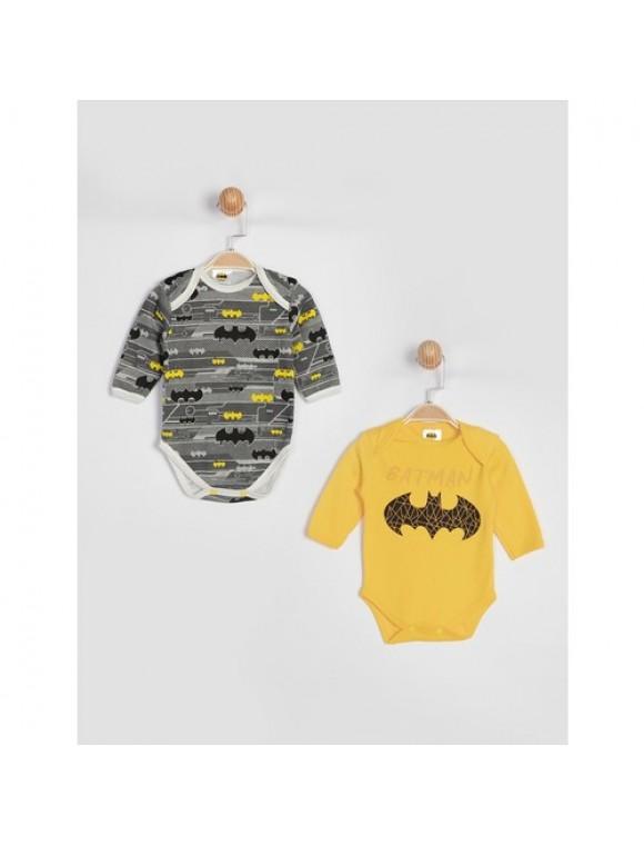 Batman 2'li Kısa Kol Body 15902
