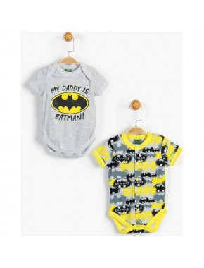 Batman Bebek 2'li Body 13431
