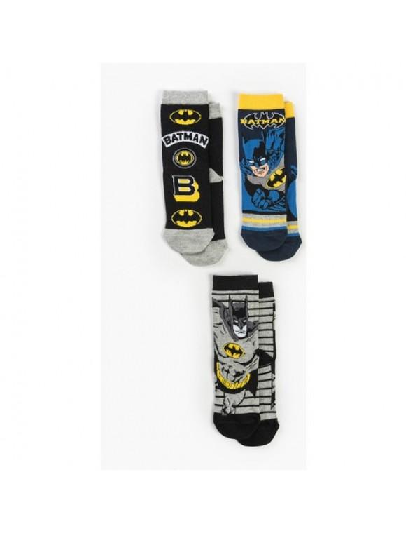 Batman Çocuk 3'lü Çorap 13124