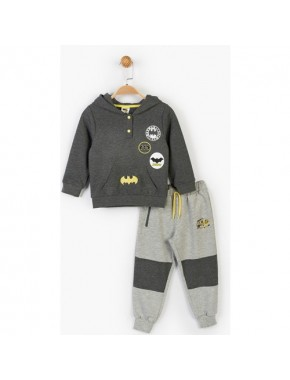 Batman Çocuk Kapüşonlu 2'li Takım 14680