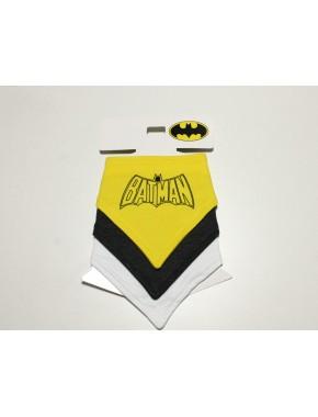 Batman Erkek Bebek 3 lü Önlük DB011