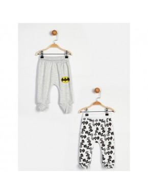 Batman Gri Beyaz 2'Li Pantolon 13985