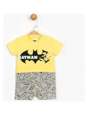 Batman Lisanslı Erkek Bebek Kısa Tulum 15581