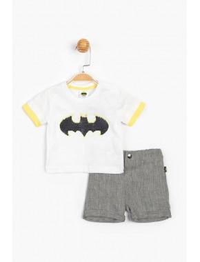 Batman Lisanslı Erkek Bebek Şortlu 2 Li Takım 15585