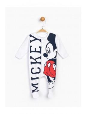 Bebek Beyaz Mickey Bebek Tulum 16176