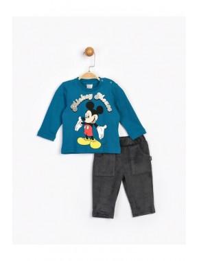 Bebek Mavi Mickey Takım 16207