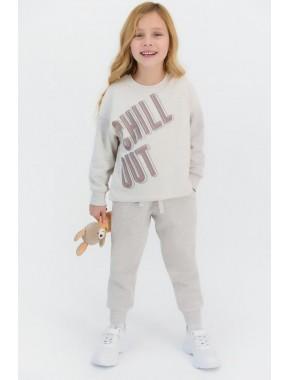 Chill Out Kremmelanj Kız Çocuk Eşofman Takımı