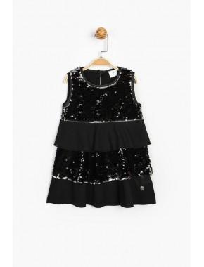 Çift Yön Pullu Elbise 15713 BPN15713-20Y1