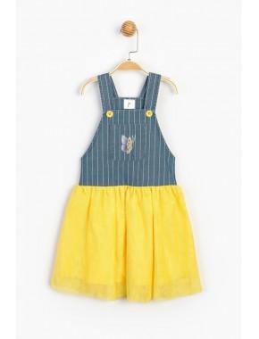 Çocuk Askılı Elbise 15358 T20Y15358PNL01