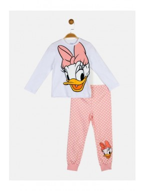 Daisy Duck Lisanslı Çocuk Pijama Takım 18470