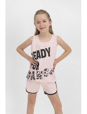 Dance Somon Kız Çocuk Şort Takım RP1808-C
