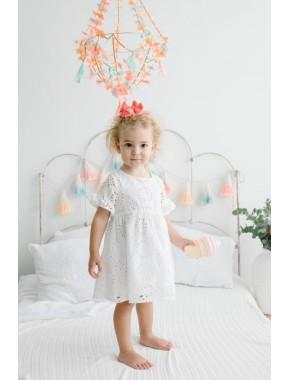 Dantelli Çocuk Elbise 15372 BPN15372-20Y1
