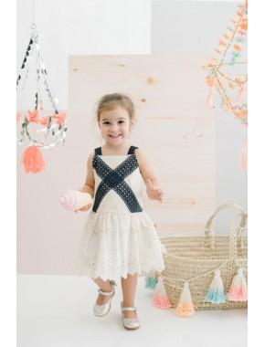 Dantelli Çocuk Elbise 15778 BPN15778-20Y1