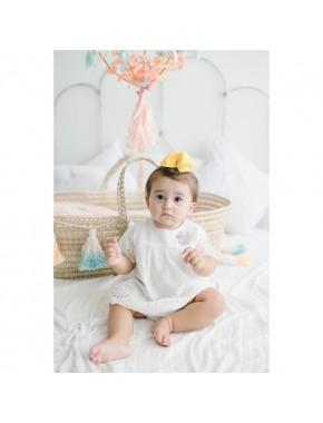 Disney Bebek Pul Detaylı Elbise 15491