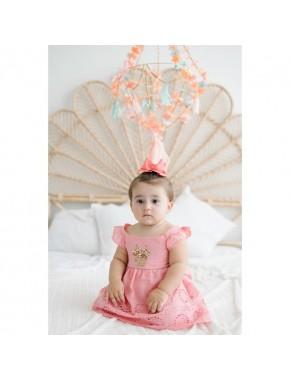 Disney Bebek Pul Detyalı Elbise 15492