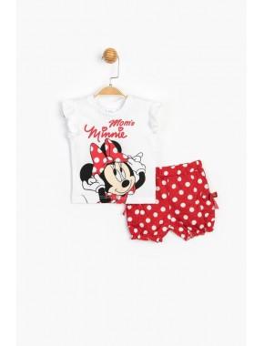 Disney Bebek Şortlu Takım 15633 BMN15633-20Y1