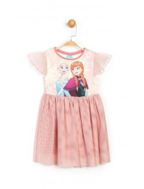 Disney Frozen Çocuk Elbise 15864