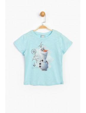 Disney Frozen Çocuk Tişört 15615 CFR15615-20Y1