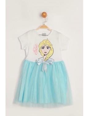 Disney Frozen Elbise 15549