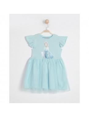 Disney Frozen Kız Çocuk Elbise 15863