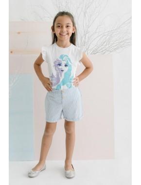 Disney Frozen Şortlu Takım 15617 CFR15617-20Y1