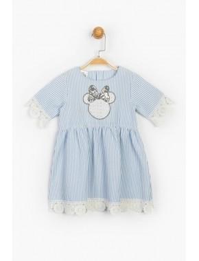 Disney Güpür ve Pul Detaylı Elbise 15496 BMN15496-20Y1