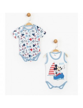 Disney Lisanslı Mickey Mouse 2'li Body 15469