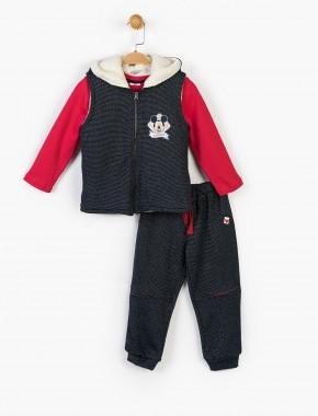 Disney Mickey Çocuk 3' lü Takım
