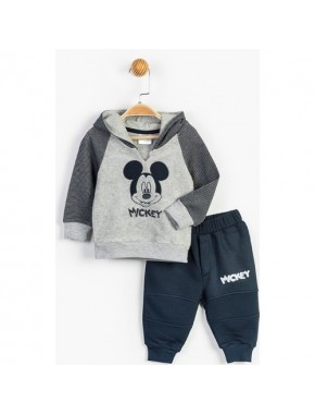 Disney Mickey Mouse Bebek 2'Li Polar Takım 13384