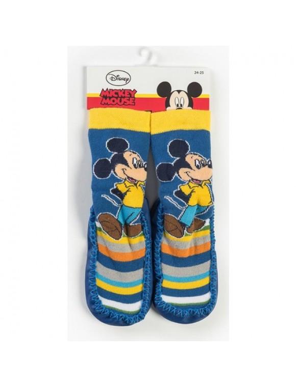Disney Mickey Mouse Bebek Patikli Çorap 13185
