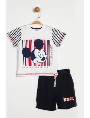 Disney Mickey Mouse Şortlu Takım 14041 BMC14041-9201