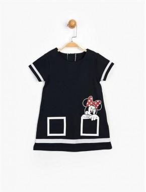Disney Minnie Çocuk Elbise 15509 BMN15509-20Y1