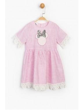 Disney Minnie Çocuk Elbise 15679 BMN15679-20Y1