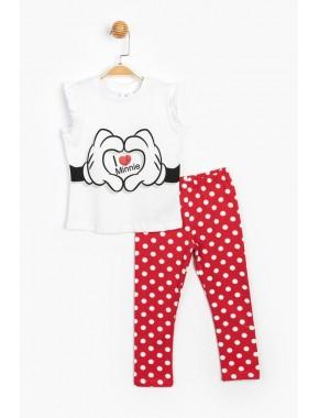 Disney Minnie Çocuk Takım 15541 BMN15541-20Y1