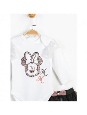 Disney Minnie Mosue 3'Lü Takım 13471