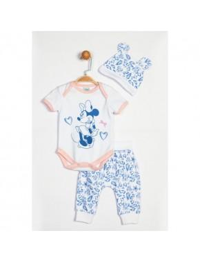 Disney Minnie Mouse Bebek 3'lü Takım 13931