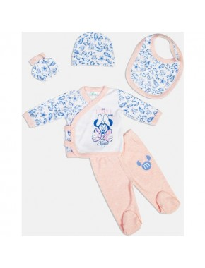 Disney Minnie Mouse Yenidoğan 5'li Set 13930