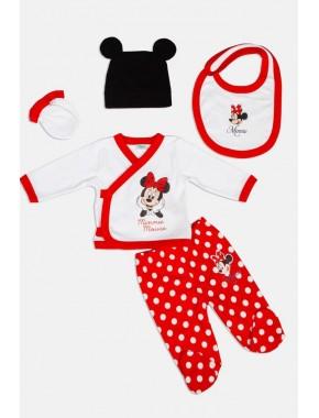 Disney Minnie Mouse Yenidoğan 5li Set 14458