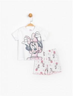Disney Minnie Şortlu Takım 15483 BMN15483-20Y1