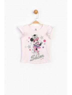 Disney Sim Baskılı Çocuk Tişört 15528
