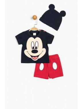 Disney Şortlu Takım ve Şapka 15593