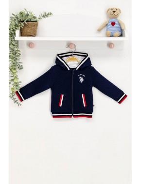 Erkek Bebek Lacivert Sweatshirt