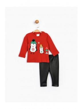Kız Bebek Kırmızı Takım 16541