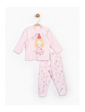 Kız Bebek Pembe Takım 16477