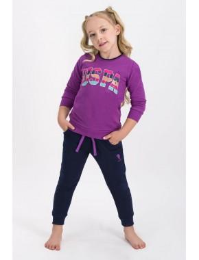 Kız Çocuk Pembe Eşofman Takımı