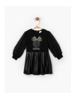 Kız Çocuk Siyah Elbise 16150