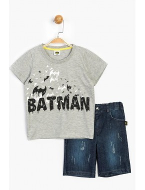 Batman Lisanslı Kot Şortlu Takım 15622 CBM15622-20Y1