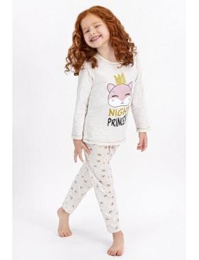 Kremmelanj Night Princess Kız Çocuk Pijama Takımı