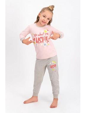 Lisanslı Kız Çocuk Pijama Takımı